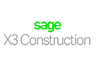 Sage X3 Construction logo